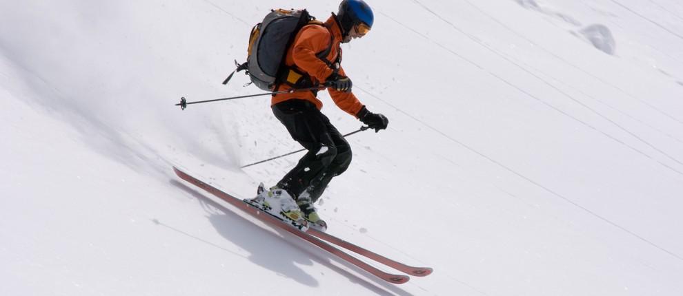 Knæskinne DonJoy til ski